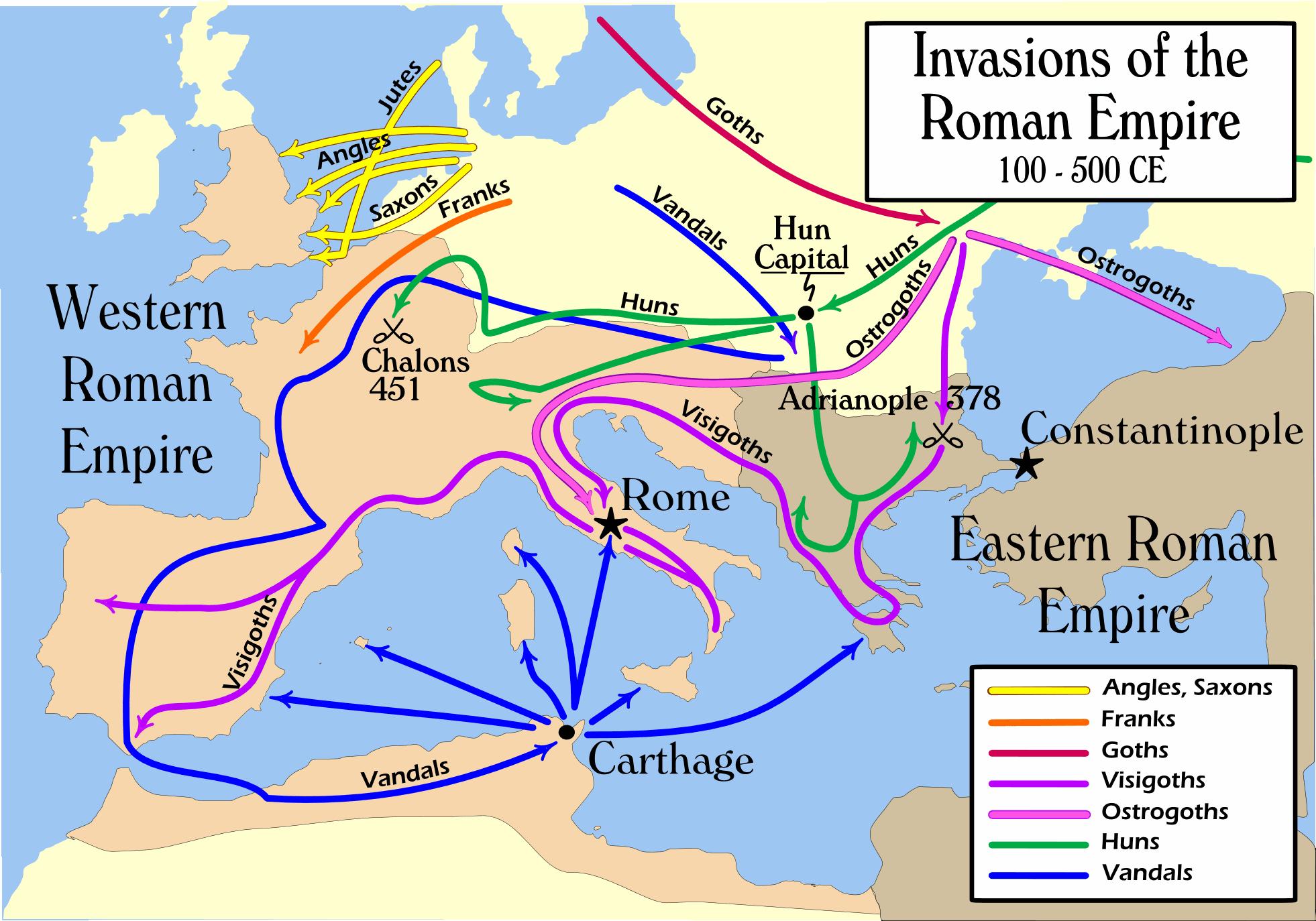 Invazii barbare