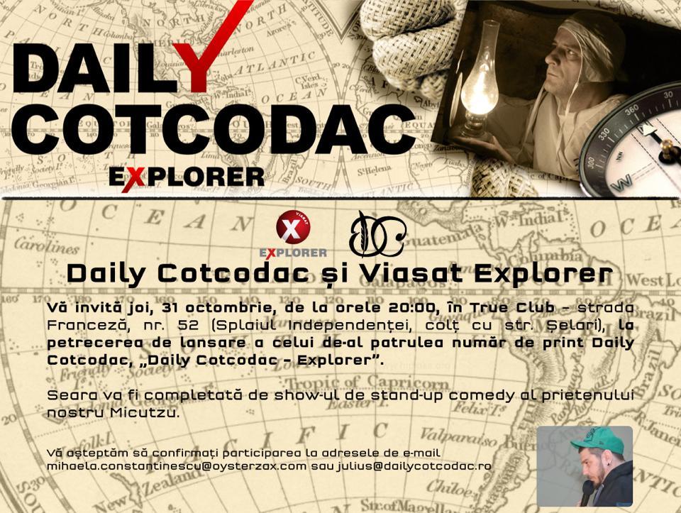 Invitatie Daily Cotcodac