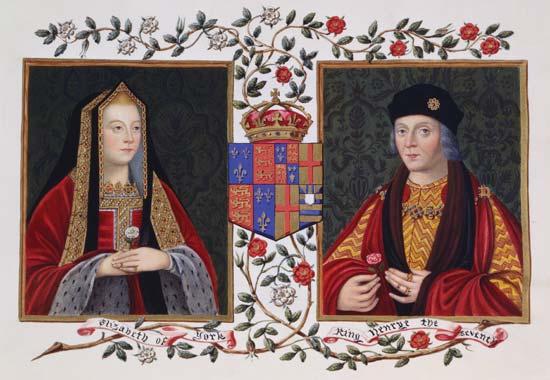 Henric VII si Elisabeth de York
