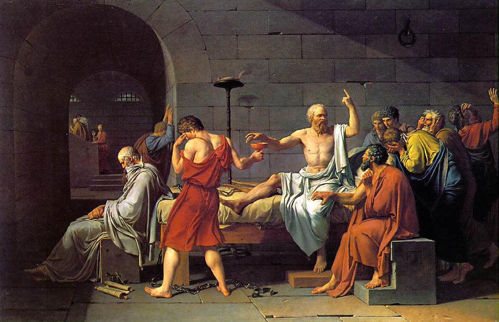 David - Moartea lui Socrate